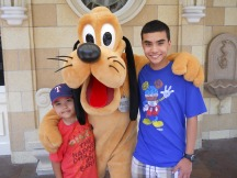 July: Went to Disneyland and relived the happiest place on Earth.