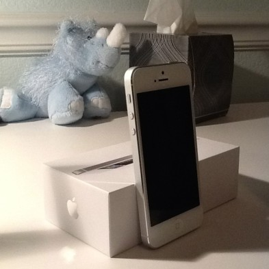 September: Waited six hours to get the iPhone 5 on release day.