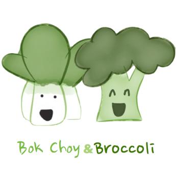 Bok Choy and Broccoli  (english)