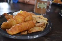 Fish & Chips and Butterbeer